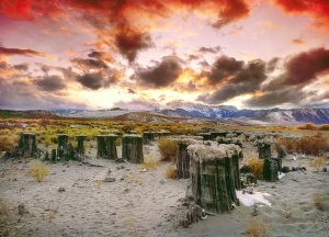 Mono Sunset, Mono Lake